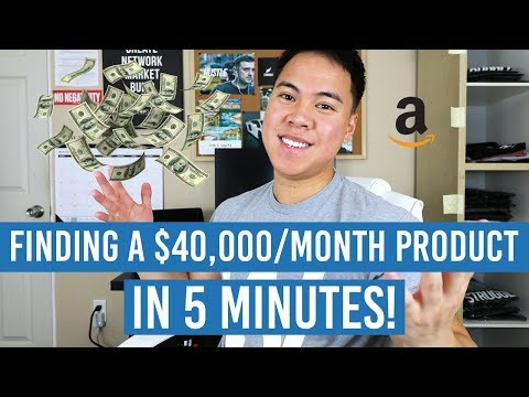 CRAZY Amazon FBA Product Research Technique That Found Me A $40,000/Month Product In 5 Minutes!
