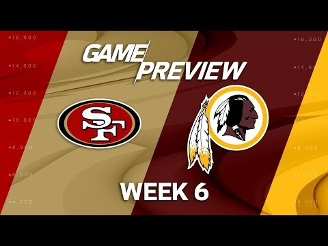 Video: San Francisco 49ers vs. Washington Redskins | Week 6 Game Preview | Move the Sticks