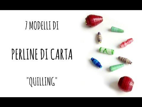Come fare 7 tipi di Perle di Carta/paper beads (quilling/D.I.Y.) ft.Fantasvale - Arte per Te