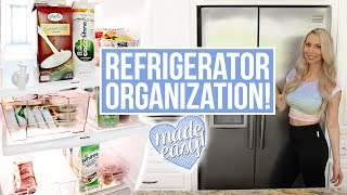 """I am FINALLY tackling refrigerator organization - sorry it took me so long! Please thumbs up if you enjoyed - can we get this to 15k likes?! CLICK FOR LINKS AND INFO ☟ ☟ ☟ ♡ S O C I A L M E D I A ♡ Follow me for cute Carter photos! INSTAGRAM:  http://instagram.com/vasseurbeauty TWITTER:  https://twitter.com/vasseurbeauty♡ M Y  P R O D U C T S ♡ I have a line of premium, all-natural body care products safe for pregnant & breastfeeding women and babies! Buy my body care bundle - body lotion, body wash and body oil - and save 25%! Free shipping in USA, ships internationally. https://vasseurskincare.com/collections/body-care/products/vasseur-beauty-kit♡ I N F O ♡*I try to link what I can, if you have any other questions ask me in the comments!⇒ Slim water dispenser for fridge http://amzn.to/2sie1j4 ⇒ Fridge organizer set http://amzn.to/2shBUHx ⇒ Label maker http://amzn.to/2scbc2c ⇒ Watch my video """"How to Keep Food Fresh Longer"""" for more fridge food tips and ideas! https://www.youtube.com/watch?v=hfjFkAtBd0w ⇒ Watch my video """"Spring Cleaning Routine"""" for how I cleaned out and reorganized my freezer https://www.youtube.com/watch?v=6VCzMnPWSt4 ⇒ Ryan wants you all to all know that he's not out of shape his shirt was just very unflattering. He was so bothered he wanted me to take out all the clips of him! HAHA! * NEW * blog post with ALL of my essential/top baby products & toys here! ⇒ https://goo.gl/Y1G9mW*** Questions for you ***⇒What should I use the 3 compartment clear container for -any ideas?⇒What would you like to see me organize next? Digital organization? Garage? Let me know your requests!  ♡ A B O U T  M E  ♡Hi + welcome!! My name is Brittany and my family has been in the skin care business for over 30 years. I made this channel to share my passion for skin care, beauty, organization, health + DIYs in a fun and entertaining way! My family's skin care line is called Vasseur Skincare. Vasseur products are made with the highest concentration of active ingredients and"""