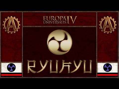 [EU4][The Three Mountains] Ryukyu World Domination Part 25 - Europa Universalis 4 Rights of Man (видео)