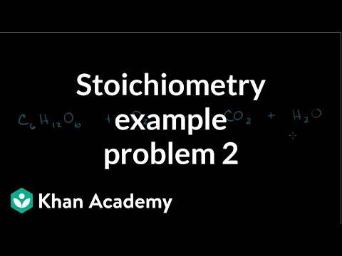 Stoichiometry example problem 2 video khan academy urtaz Images