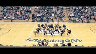 Homecoming Assembly Hip Hop Performance - Hunter High Dance Company 2014-2015