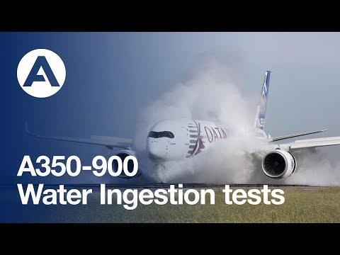 Водные процедуры: испытания Airbus A350 XWB - Центр транспортных стратегий