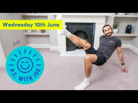 PE With Joe   Wednesday 10th June