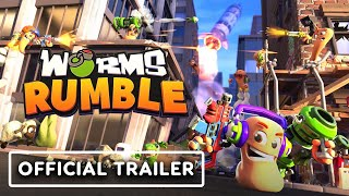 Worms Rumble - Official Announcement Trailer by IGN