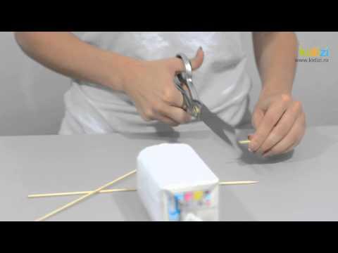 Cum sa confectionezi o masinuta care se deplaseaza cu ajutorul balonului