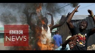 Andrew in Bujumbura tells BBC's World Have Your Say programme what it's like in the capital on Burundi right now. Subscribe to BBC News HERE http://bit.ly/1r...