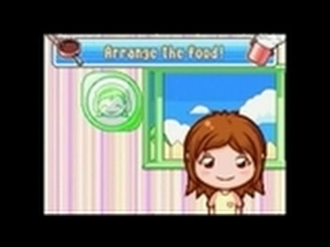Cooking Mama 2: Dinner With Friends Nintendo DS Gameplay -