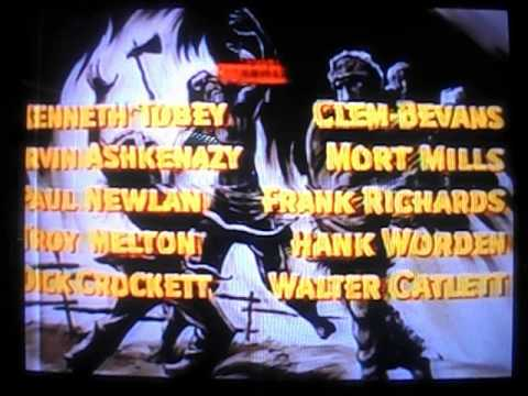 Opening to Davy Crockett and The River Pirates 1986 VHS