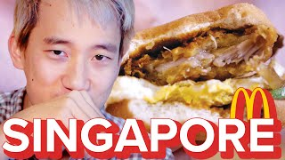 Video Americans Try Singapore McDonald's MP3, 3GP, MP4, WEBM, AVI, FLV Agustus 2018