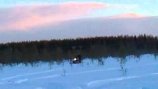 8. Ski-Doo 600 e-tec wheelie
