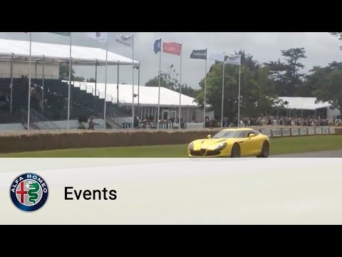 0 Alfa Romeo TZ3 Stradale Zagato   Made Appearances at Goodwood Festival of Speed