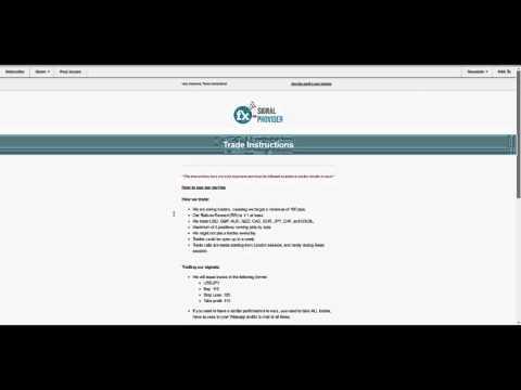 Fx-SignalProvider (Forex Signals)