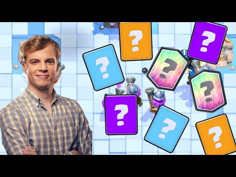 Clash Royale - BLIND DECK CHALLENGE!
