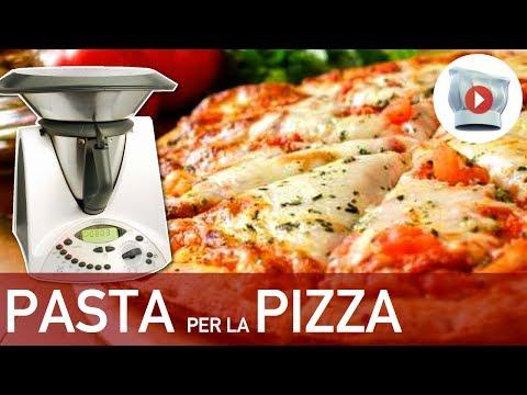 video ricetta: bimby - tutti i segreti per una perfetta pasta per pizza