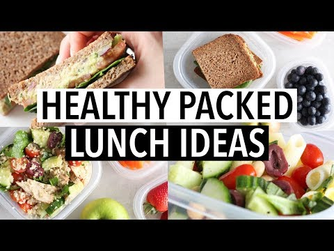EASY HEALTHY PACKED LUNCH IDEAS - For school/ or work!