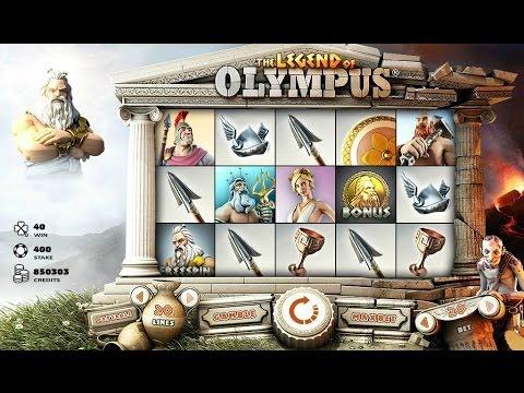 Legend of Olympus Slot Review - Casinos-Online-888.com