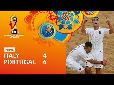 Italy v Portugal [Highlights] - FIFA Beach Soccer ...