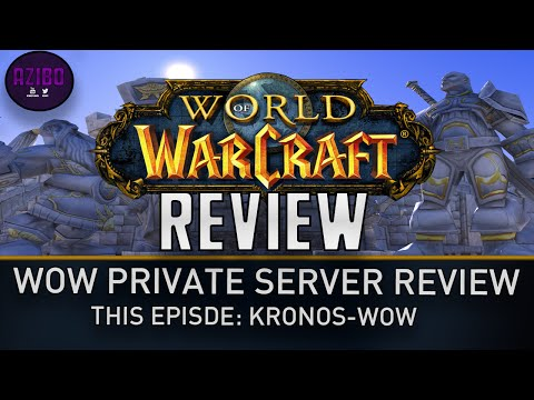 WoW Private Server Review – Kronos-WoW – (1.12.1)
