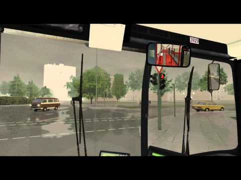 Omsi Bus Simulator [HD] Gameplay