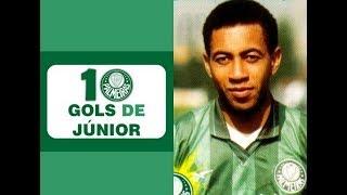 Video 10 Gols de JÚNIOR (Palmeiras) MP3, 3GP, MP4, WEBM, AVI, FLV April 2019