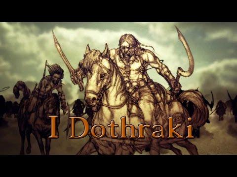 il trono di spade: i dothraki
