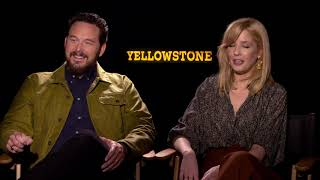 YELLOWSTONE Season 2 INTERVIEW Kelly Reilly and Cole Hauser (2019) by Joblo TV Trailers
