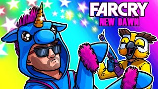 Far Cry: New Dawn Funny Moments - Unicorn Moo's Magic Flamethrower! by Vanoss Gaming