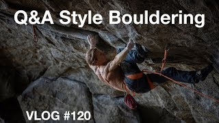 Q&A STYLE BOULDERING | VLOG #120 by Magnus Midtbø