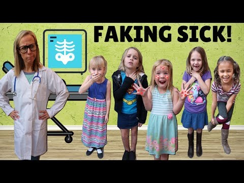 Toy Doctor Lucy and 5 Sick Kids !!! (видео)