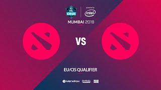 Team Jekich vs Mahoney squad, ESL One Mumbai EU/CIS Quals, bo3, game 1 [4ce]