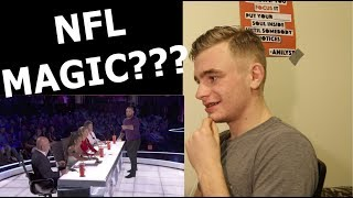 This is my reaction to NFL player and magician Jon Dorenbos' performance on America's Got Talent. This is my honest opinion. If you like this sort of thing subscribe as I do daily videos. Thank you for watching!ORIGINAL video: https://www.youtube.com/watch?v=J3smwlrSiWYFollow me on IG: https://www.instagram.com/eduardtodorFollow me on FB: https://www.facebook.com/EduardTodorMagicFollow me on Twitter: https://twitter.com/EduardTodorSong link: https://www.youtube.com/watch?v=538xTelRFZg