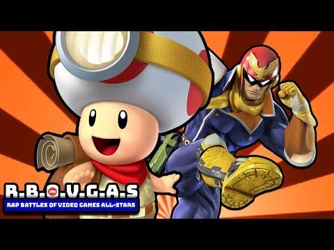 Captain Falcon Vs Captain Toad (Rap Battles Of Video Games All-Stars)(Season 6)