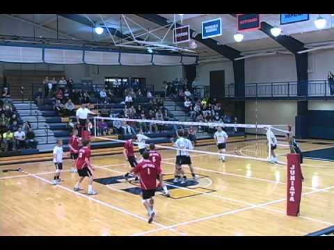 Men's volleyball stifles Saint Francis in three