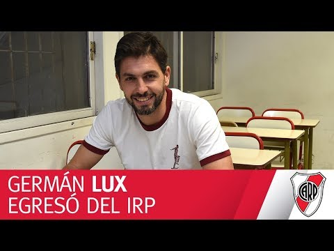 Germán Lux egresó del Instituto River