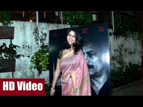 Video Sakshi Tanwar gorgeous in transparent saree at screening of AZAAD. download in MP3, 3GP, MP4, WEBM, AVI, FLV January 2017