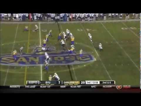 Keith Smith Game Highlights vs BYU 2012 video.