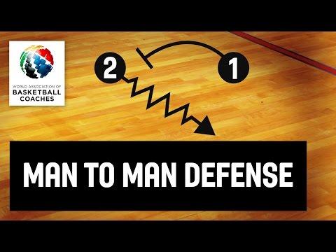 Basketball Coach Patrick Hunt - Man To Man Defense
