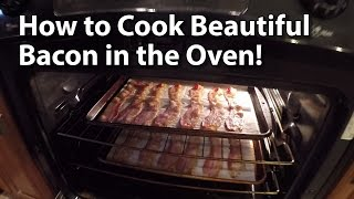I love the way my wife cooks bacon by baking it in the oven. This is her technique. The bacon is never greasy or limp. It's always crispy and full of flavor for ...