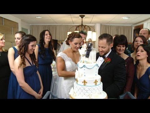 Watch Our Happy 'Wedding in a Week' Newlyweds Cut the Cake