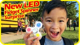 New LED Light FIDGET SPINNER Toys, Should Schools Ban Fidget Spinners and Smartwatches? TigerBox HD