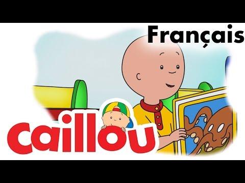 Caillou FRANÇAIS - Un livre emprunté (S05E20) | conte pour enfant