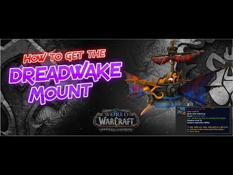 How to get the Dreadwake Mount (видео)