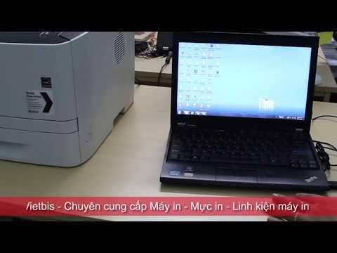 Video Hướng dẫn cài đặt máy in canon lbp 251dw in mạng qua laptop