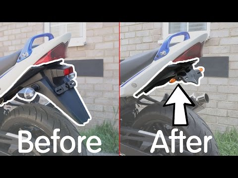 Fitting a Tail Tidy / Fender Eliminator