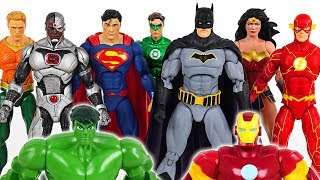 Video Hulk and Iron Man are hurt! Go! Justice League! Batman, Superman, Wonder Woman! - DuDuPopTOY MP3, 3GP, MP4, WEBM, AVI, FLV September 2018