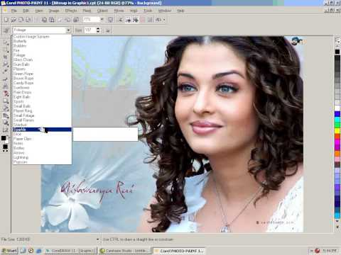 COREL DRAW 11 COMPLETE TUTORIALS IN URDU Bitmap To Color Mask