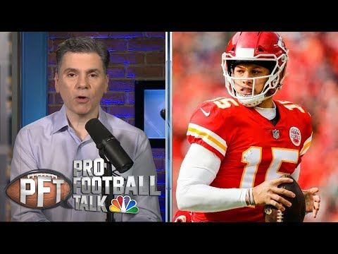 Video: Patrick Mahomes, Tom Brady among best QBs in Divisional Round | Pro Football Talk | NBC Sports