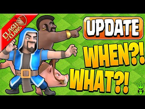 WHEN IS THE NEXT CLASH OF CLANS UPDATE?! - Clash of Clans